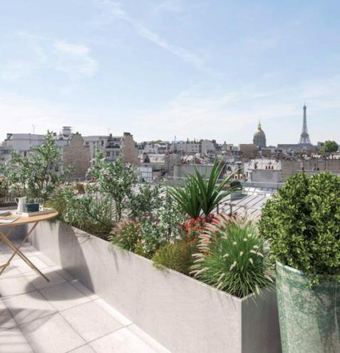 Rue du Bac-Appartement Triplex-Terrasse-166 m2 – 5 pièces – 2 chambres-Paris VII
