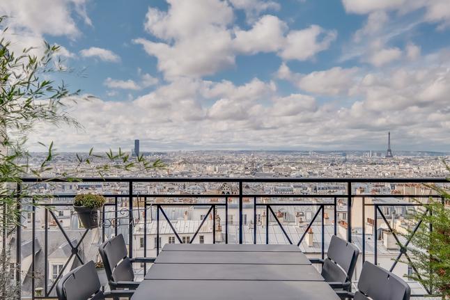 Maison de ville à Montmartre-Paris 18