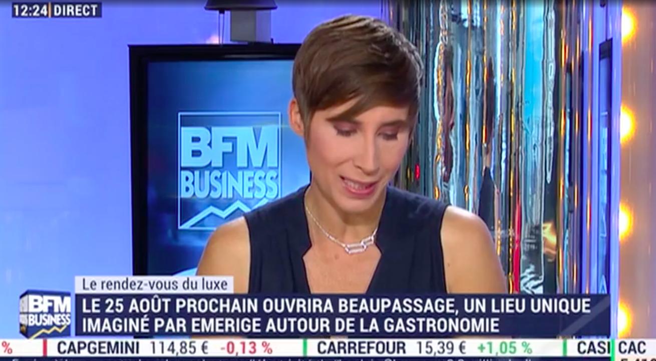 BFM TV - Beaupassage, un lieu unique en plein coeur du 7ème à Paris