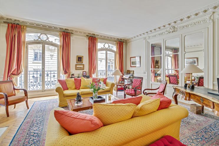Appartement haussmannien à usage d'habitation ou mixte-297m2-Paris 17