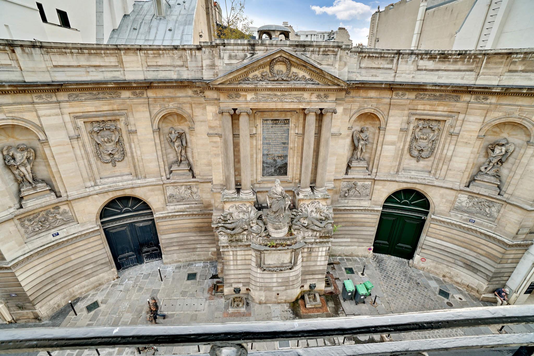 #VENDU#La Fontaine des 4 saisons pour vis à vis-Rue de Grenelle-Paris 7
